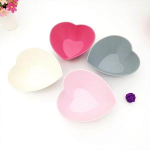 Heart shape salad bowl
