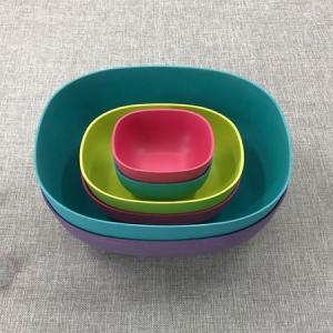 Unique Polishing rice salad bowls set